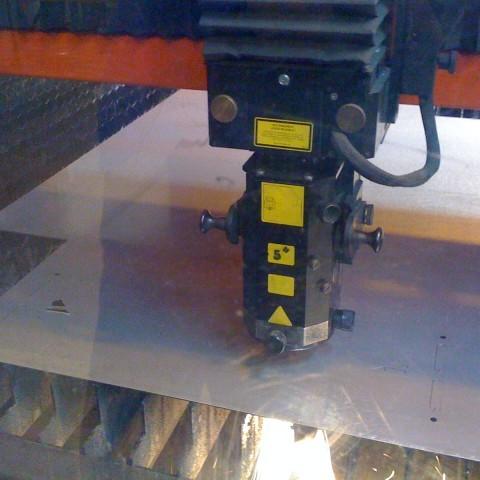 Découpe laser sur plan